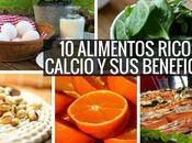 alimentos ricos calcio beneficios