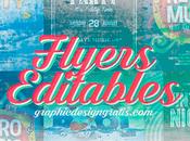 Flyers editables para descargar