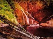 Colores agua caen