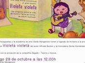 """Lanzamiento libro """"Violeta violeta"""""""
