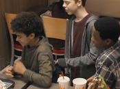 genial cámara oculta Burger King lucha contra bullying