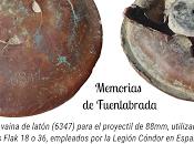 Artefacto Guerra Civil Española encontrado Casco Antiguo Fuenlabrada, procedente Alemania Nazi (1936)