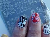 Nail Halloween Gost Stamping Plate