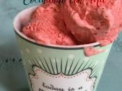 Helado Fresas Moulinex Cuisine Companion