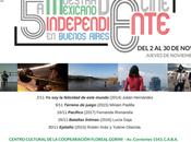 Quinta Muestra Cine Mexicano Independiente Buenos Aires