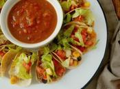 Mini tacos ternera, plato tex-mex para aperitivo