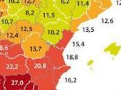 mapa paro España: peores mejores provincias para encontrar trabajo