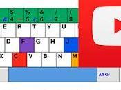 Cómo manejar youtube teclado
