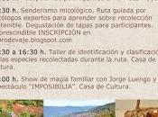 Jornadas Micológicas Valle Jerte noviembre 2017)