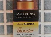 Spray aclarante blonder john frieda