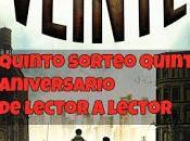 GANADOR QUINTO SORTEO ANIVERSARIO (Veinte)