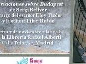 """Presentación """"Variaciones sobre Budapest"""" Sergi Bellver"""