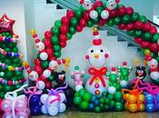 Decoraciones Navidad globos