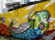 Beco, colorida transformación peligroso espacio público