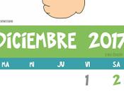 Calendario Diciembre 2,017 Seña Guatemala
