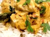 Curry pollo leche coco estilo Kerala
