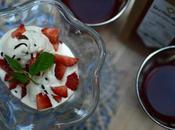 Helado infusión frutas, fresa nata