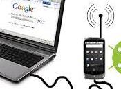 Aprendiendo Teléfono Móvil SmartPhone Conexión compartida