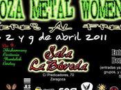 Zaragoza Metal Woment Fest 2011