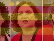 Mujeres clave frente nueva Generalitat soberanista: Rovira, Colau Forcadell.