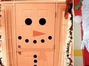 ideas espectaculares para decorar puertas navidad