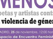 Encuentro artistas poetas contra violencia sexista