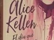 """dejó nevar Alaska"""" (Alice Kellen)"""