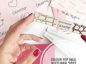 Colourpop haul autumn 2017