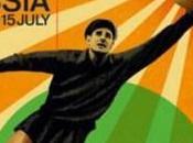 póster oficial mundial Rusia tiene como figura Yashin