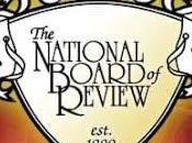 "PREMIOS ""NATIONAL BOARD REVIEW"" (National Board Review Awards)"