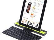 Teclado plegable mejor acompañante para tablet
