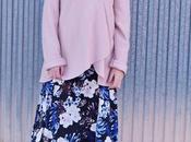 Maxi vestido flores capa