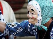 Hyottoko, curioso personaje festivales japoneses
