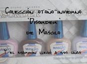Colección Otoño-Invierno 'Disorder' Masglo marrón llegó uñas