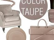 Taupe colour obsession