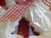 Galletas rellenas mermelada para Navidad