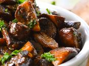 Thermomix: Champiñones asados mantequilla bourguignon
