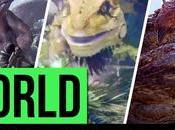 Monstruos Monster Hunter World