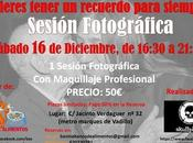 Sesión fotográfica benéfica Madrid Diciembre).