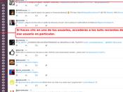 Twack, herramienta para pierdas tuits usuarios sigues