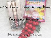 Matte Liquid Lipstick Nabla Colección Holidays estreno marca!