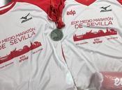 Medio Maratón Sevilla bate récord inscripciones celebración presenta medalla, camiseta carrera para niños