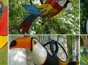 Recicla llantas lindas macetas animalitos para hogar
