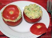 Tomates rellenos quinoa