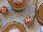 Crema caramelo profiteroles