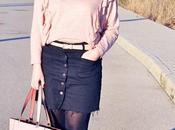 Look rosa negro