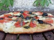 Pizza mozzarella anchoas