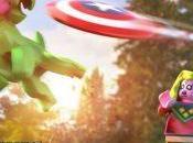 Campeones unen juego LEGO Marvel Super heroes