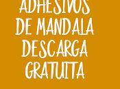 "Adhesivos etiquetas Mandala ""Namaste"" descarga gratuita"