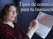 Tipos corrección para manuscritos ANUNCIO DIRECTO